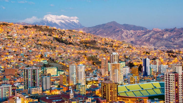 A Tale of Three Cities La Paz, Sucre, and Potosí!