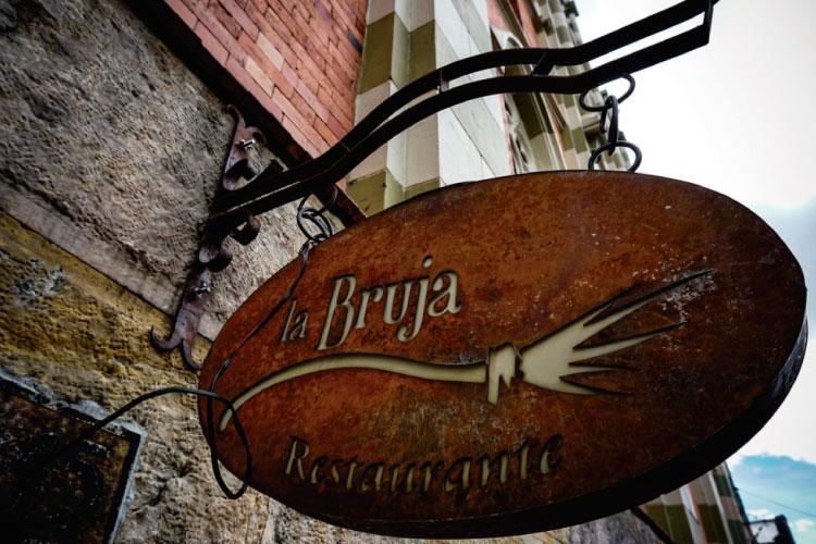 La bruja Restaurant Colombia Travel