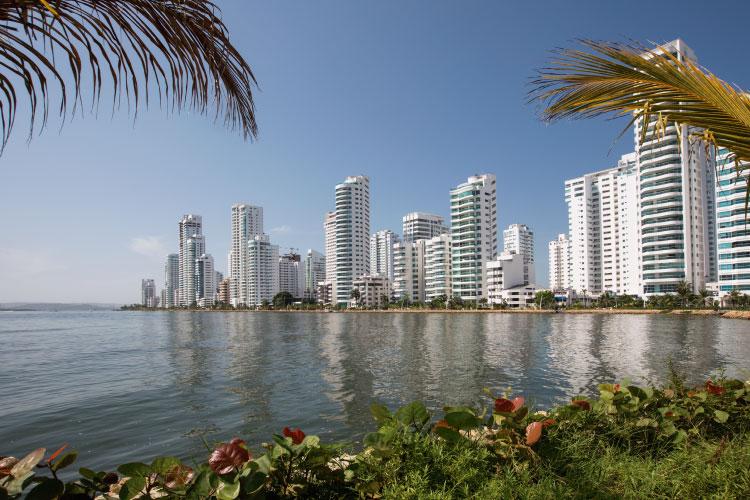 Cartagena Beach Colombia Travel