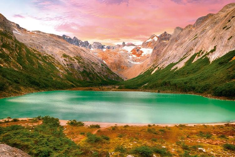 Esmeralda Lagoon Ushuaia