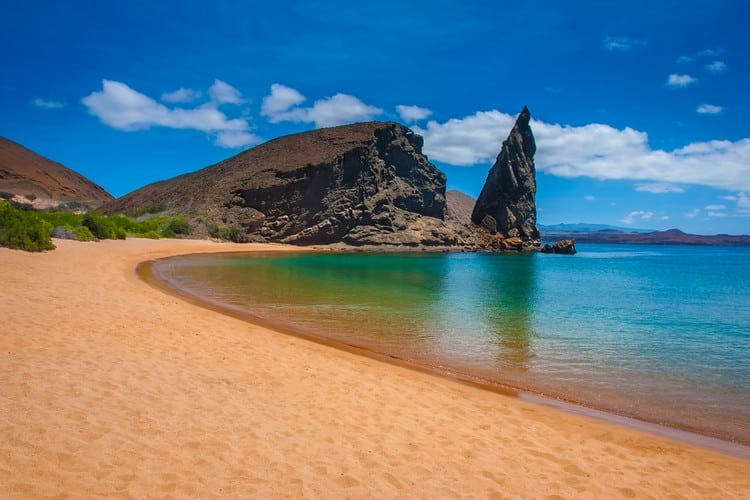 Pinnacle rock Galapagos