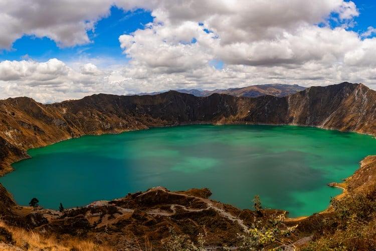 Quilotoa lake Ecuador Travel