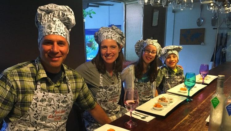 Family travel activities