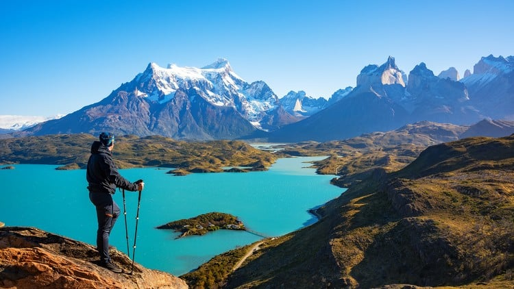 hikes in Torres del Paine