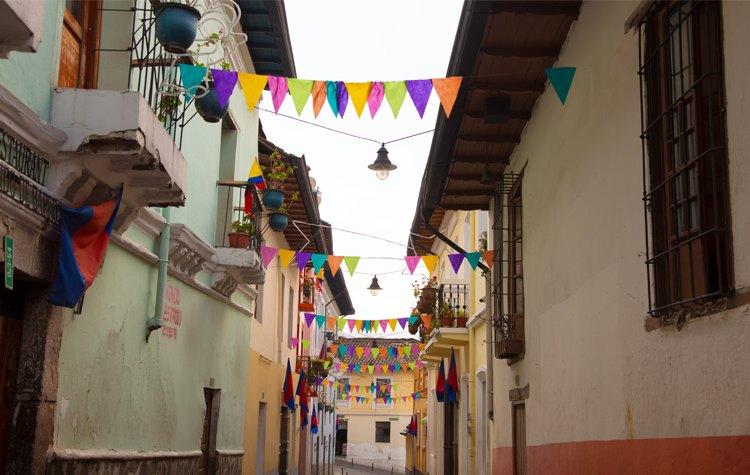 Carnival in Quito