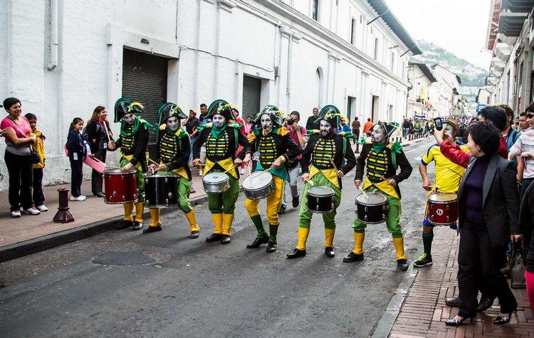 Traditional costumes Ecuador