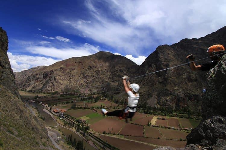 Zip line Peru Adventure